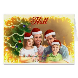 Hell Holiday Greetings! Card