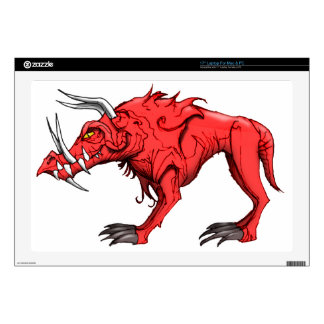 """HELL HOUND SKIN FOR 17"""" LAPTOP"""