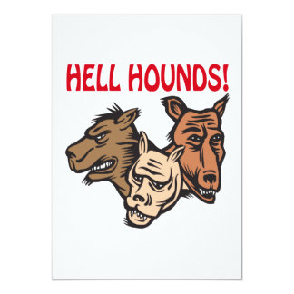 Hell Hounds Card