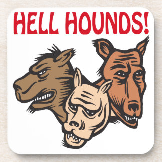 Hell Hounds Beverage Coaster