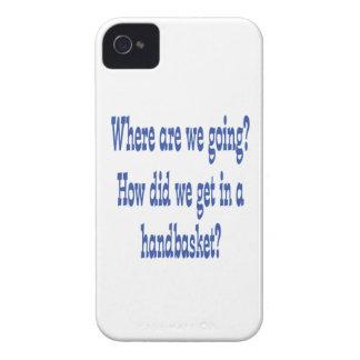 Hell In a Handbasket iPhone 4 Case