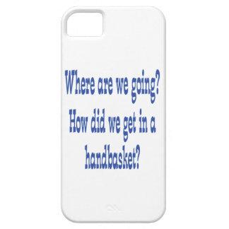 Hell In a Handbasket iPhone SE/5/5s Case