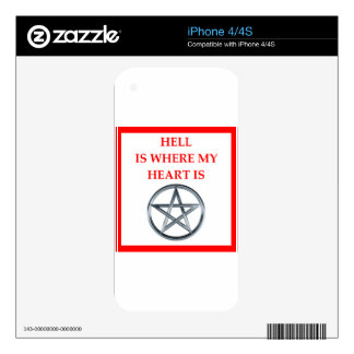 HELL iPhone 4S DECALS