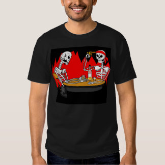Hell Is For Skeletons T-shirt