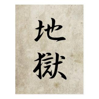 Hell - Jigoku Postcard