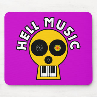 Hell Music Mouse Pad