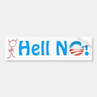 Hell, No 'Bamma! Bumper Sticker