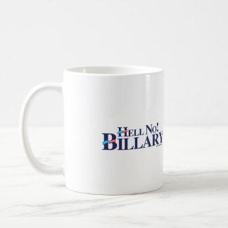 Hell No Billary - Anti Hillary png.png Coffee Mug