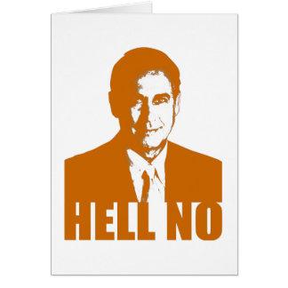 Hell No Card