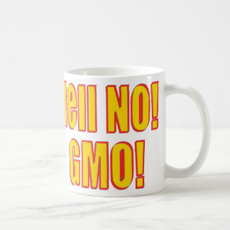 Hell No! GMO! Coffee Mugs