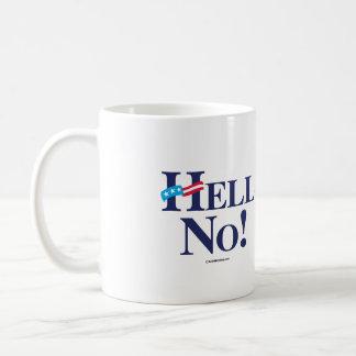 Hell No Hillary - Anti Hillary png.png Mug