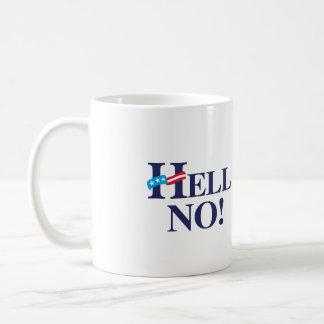 Hell No Hillary -.png Coffee Mugs