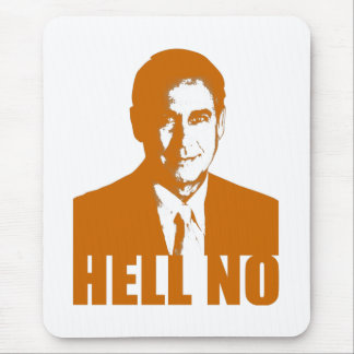 Hell No Mouse Pad