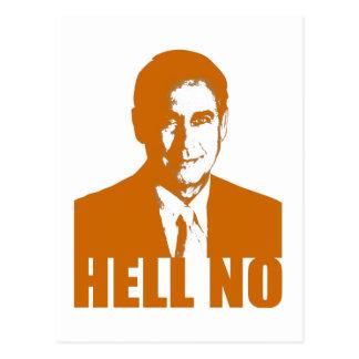 Hell No Postcard