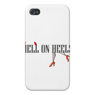 Hell On Heels (Legs/Horns) Cover For iPhone 4