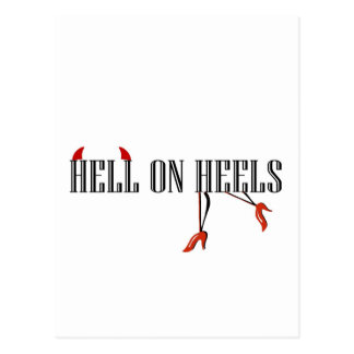 Hell On Heels (Legs/Horns) Post Cards