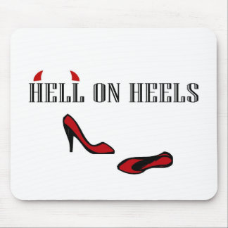 Hell On Heels Mouse Pad