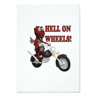Hell On Wheels Card