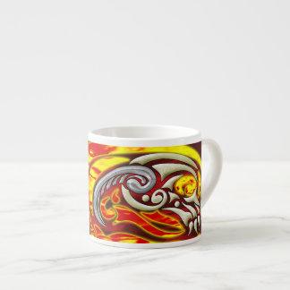 Hell On Wheels Espresso Mug 6 Oz Ceramic Espresso Cup