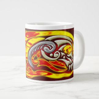 Hell on Wheels Jumbo Mug 20 Oz Large Ceramic Coffee Mug