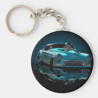 hell on wheels keychain