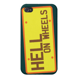 Hell on Wheels licence plate products iPhone 4/4S Case