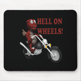 Hell On Wheels Mouse Pad