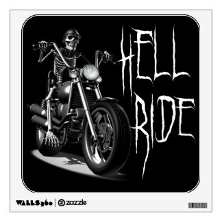 Hell-Ride Wall Decal