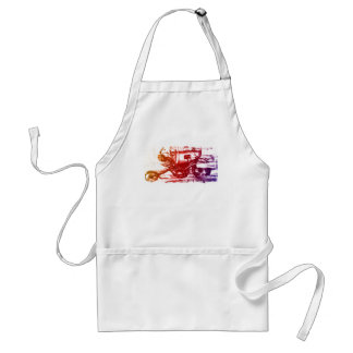 Hell Rider Aprons