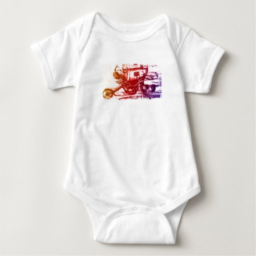Hell Rider Baby Bodysuit