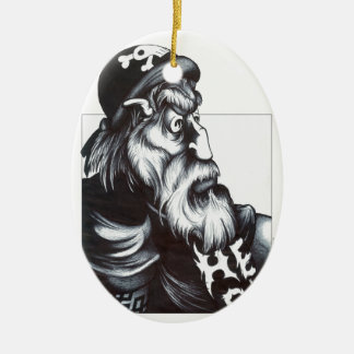 Hell Rider Ceramic Ornament