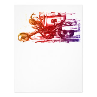 Hell Rider Personalized Letterhead