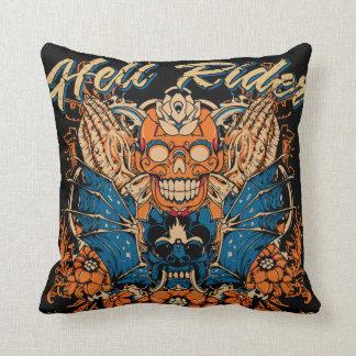 Hell rider pillow