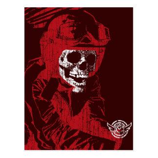 Hell Rider (vintage) Postcard