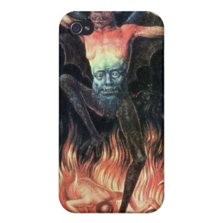 Hell, right hand panel from Triptych of Earthly iPhone 4 Covers