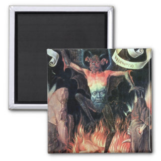 Hell, right hand panel from Triptych of Earthly Magnet