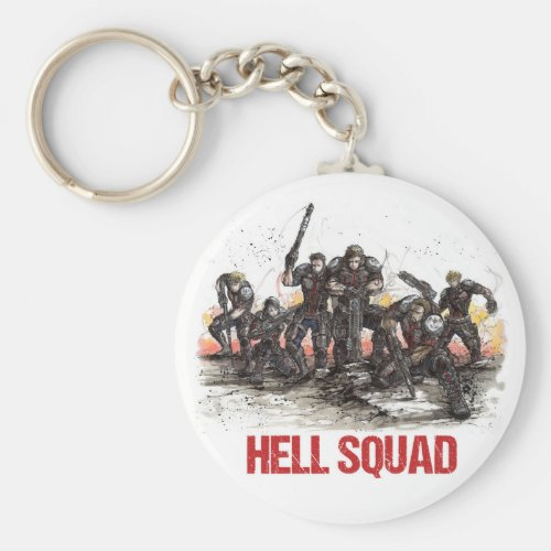 Hell Squad Keychain