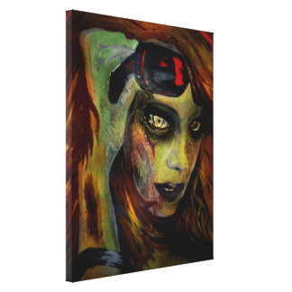 'Hell to Pay' Stretched Canvas Print