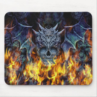 Hell wings II. Mouse Pad