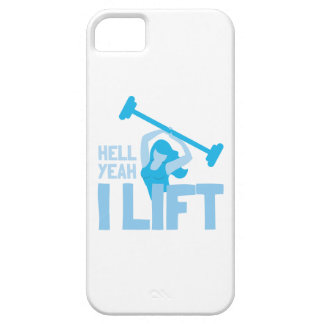 Hell yeah I lift iPhone SE/5/5s Case