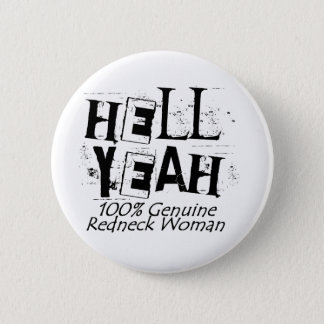 Hell Yeah Pinback Button