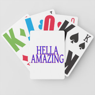 Hella Amazing California Style Bicycle Playing Cards