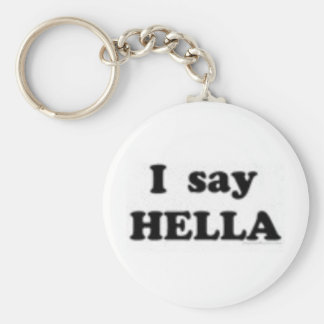 hella basic round button keychain