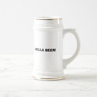 HELLA BEER! BEER STEIN