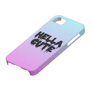 """Hella Cute"" Gradient Case iPhone 5 Cover"