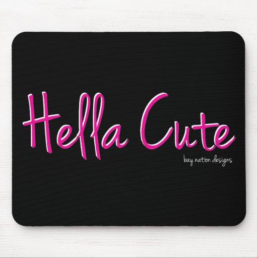 Hella Cute Mouse Pad