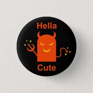 Hella Cute Pinback Button