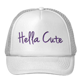 Hella Cute Purple Trucker Hat