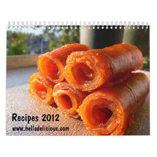 Hella Delicious Recipe Calendar 2012