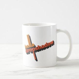 Hella Dropshadow Coffee Mug